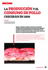 La producción y el consumo de pollo crecerán en 2020