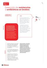 Detección de resistencias a antibióticos en broilers