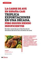 La carne de ave casi triplica exportaciones en una década, pero siguen siendo insuficientes