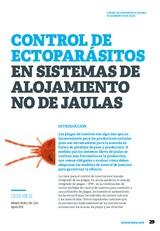 Control de ectoparásitos en sistemas de alojamiento no de jaulas