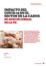 Impacto del Covid-19 en el sector de la carne de aves de corral en la UE