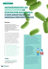 Patogénesis de las infecciones en huevos por salmonela e implementación de medidas preventivas (I )