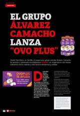 """El grupo Álvarez Camacho lanza """"Ovo Plus"""""""