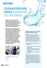 Cloración del agua durante la crianza