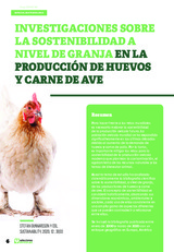 Especial SOSTENIBILIDAD: Investigaciones sobre la sostenibilidad a nivel de granja en la producción de huevos y de carne de ave.