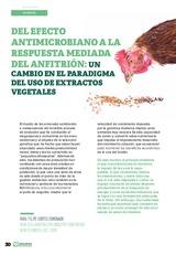 Del efecto antimicrobiano a la respuesta mediada del anfitrión: un cambio en el paradigma del uso de extractos vegetales