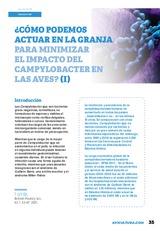 ¿Cómo podemos actuar en la granja para minimizar el impacto del Campylobacter en las aves? ( I )