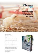 Ad Olimpe-Agri desinfección del agua por electrólisis en línea