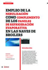 Empleo de la nebulización como complemento de los paneles de refrigeración evaporativa en las naves de broilers