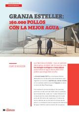 Granja Esteller: 160.000 pollos con la mejor agua